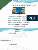 ALIRAN-ALIRAN PENDIDIKAN by Dwi Andri Y.