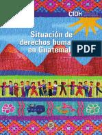 CIDH Situación DDHH Guatemala2016