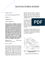 Mfd011 - Flexible Manufacturing System