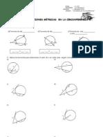 Guia  Relaciones métricas en la  circunf
