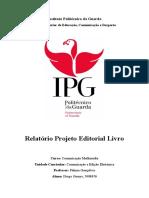 Projeto Editorial Livro