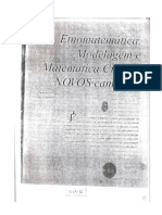 Texto Etnomatematica Educacao Mat Critica e Modelagem