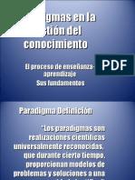 Paradigmas en La Gestión Del Conocimiento