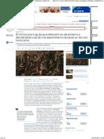 El Mítico Portugués Que Defendió Su Estandarte a Dentelladas Cuando Los Españoles Le Cercenaron de Raíz Los Brazos