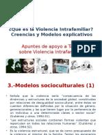 Taller VIF Modelo Sociocultural