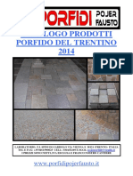 Catalogo Prodotti 2014 IT - Porfidi Pojer Fausto