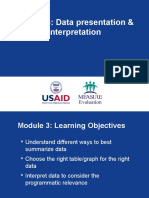Me Module 3 Data Presentation and Interpretation May 2