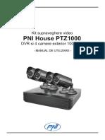 User Manual Ptz1000