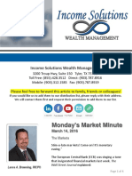 Monday's Market Minute - 03-14-16