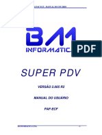 Manual Do Usuario SUPER PDV