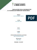 Informe curso drenaje linfatico 2016