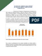 Informe Ventas Online Segundo Semestre 2015