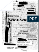 Operation Greenhouse. Scientific Director's Report of Atomic Weapon Tests at Eniwetok, 1951.