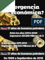 """Decreto de emergencia económica es un """"parapeto inútil"""" que no debe ser prorrogado"""