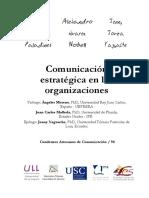 Comunicación estratégica en las organizaciones