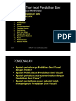 Falsafah Seni Visual Dari Politik