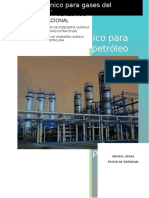Proceso Criogénico Para Gases Del Petróleo