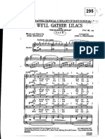 295 We'Ll Gather Lilacs Key F - Sheet Music
