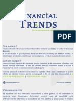 Prezentare reseacher independent Financial Trends