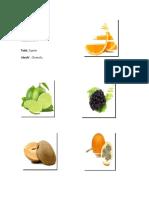 5 Frutas y 5 Verduras en Achi