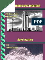 Electronic Apex Locators