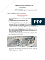 Centrallocking Actuator Mounting
