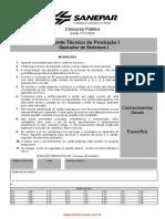 Agente Técnico de Produção I - Operador de Sistemas I_Sanepar_2004