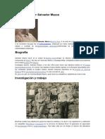 Dr Salvador Mazza Biografía