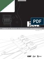 ESP - Electric Guitar