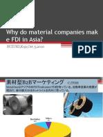 Material FDI