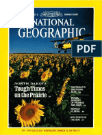 National Geographic March 1987