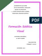 Formacion Estética Visual