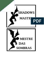 Livro Das Sombras (Mestre das sombras)