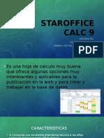 Staroffice Calc 9
