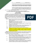 Reglamento Agencia ASEA