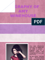 Biography of Amy Winehouse