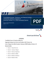 American Airlines Consolidated Answer