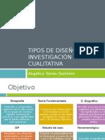 Tipos de Diseño en Investigación Cualitativa