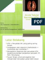 Acute Tubular Necrosis (ATN)