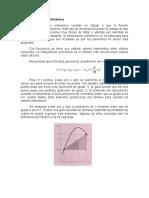Interpolación Polinomica Trabajo