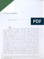 Pierre Bourdieu - A Ilusão Bibliográfica