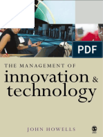 The Management of Innovation and Technology - The Shaping of Technology and Institutions of the Market Economy - J Howells (Sage Publications Ltd)