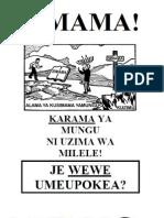 Kiswahili -Stop Tract