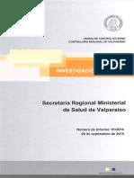 Informe Investigacioìn Especial 51-14 Seremi Salud de Valparaiìso Sobre Eventuales Irregularidades - Septiembre_2015 (1)