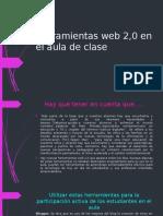 Herramientas Web 2,0 en El Aula de Clase