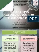 Fleboclisis y Calculos de Dosis de Medicamentos