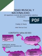 Identidad Musical y Nacionalidad. Presentacion Fladem 2003