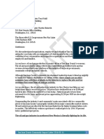 San Juan County Community Impact Letter