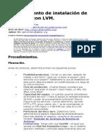 Alcance Libre - Procedimiento de Instalación de CentOS 7 Con LVM