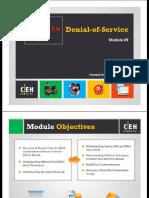 CEHv9 Module 09 Denial-Of-Service (1)